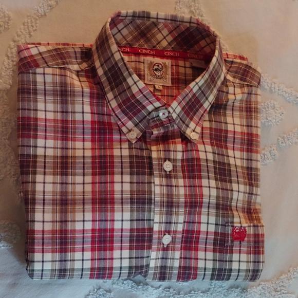 Cinch Other - Men's large long sleeve Cinch shirt